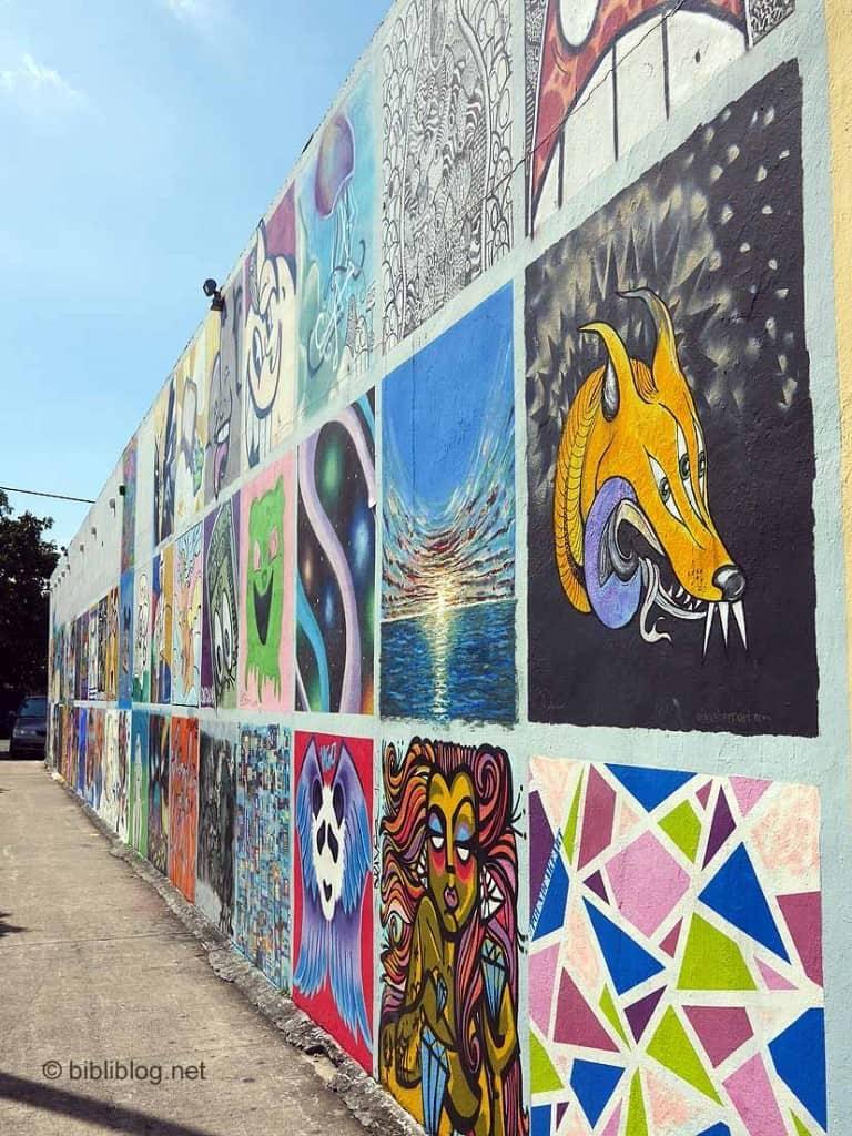 murs décorés Little havana