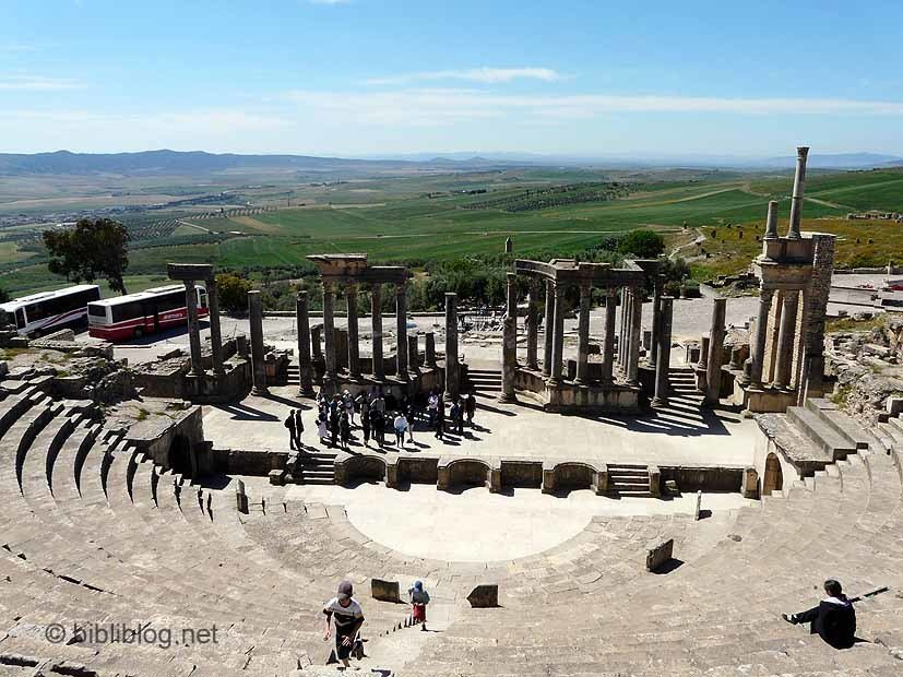 theatre-dougga-tunisie