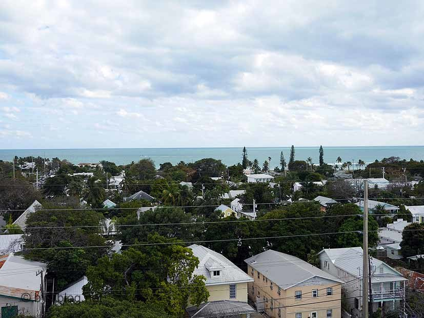 vue haut phare Key West