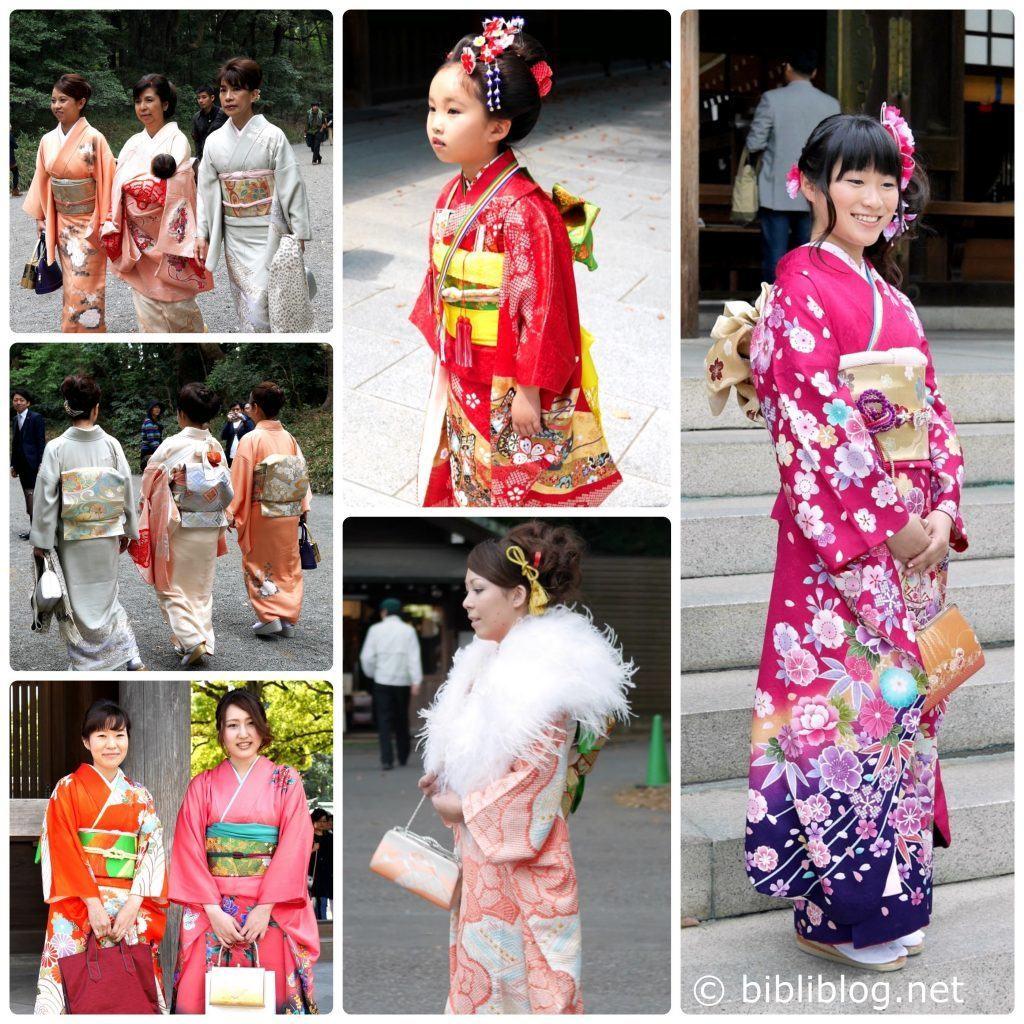 Collage-kimonos