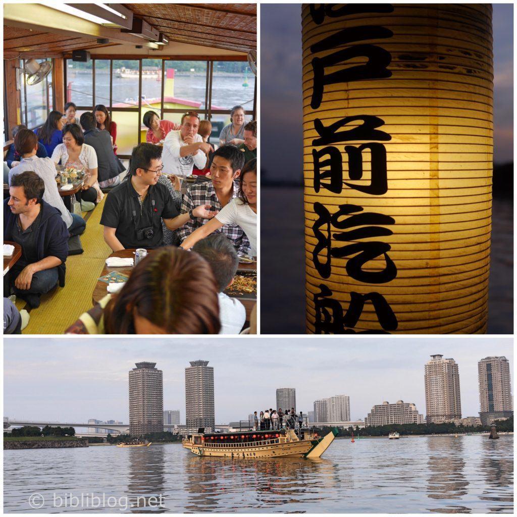 Odaiba-bateau