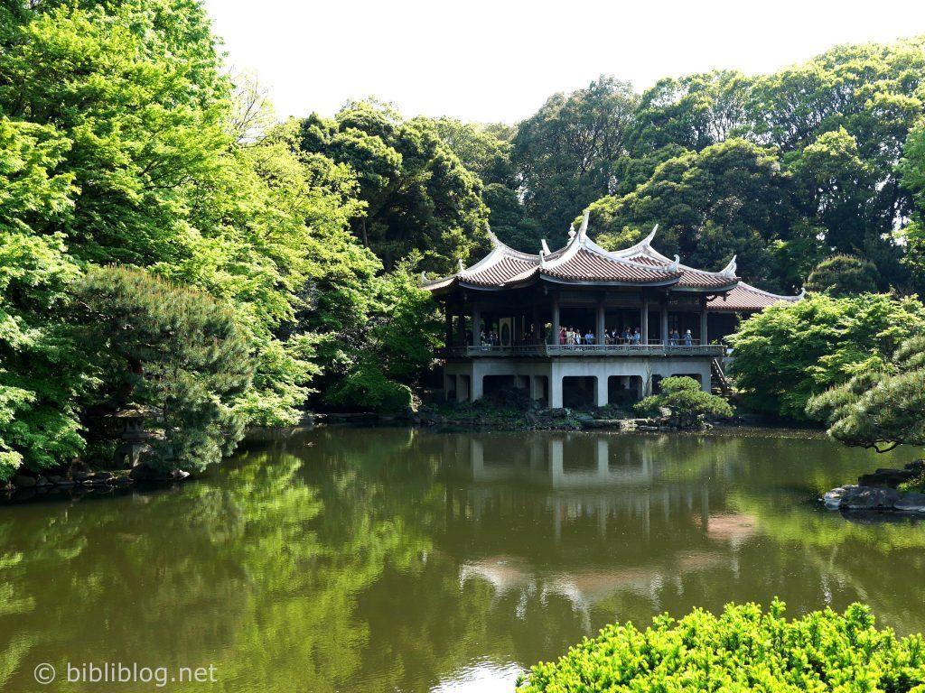 Shinjukugoen-temple