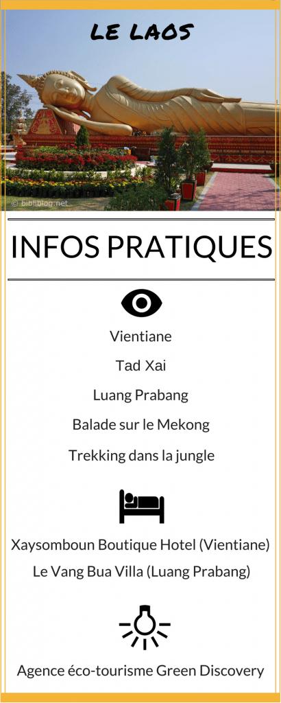 Infos pratiques Laos