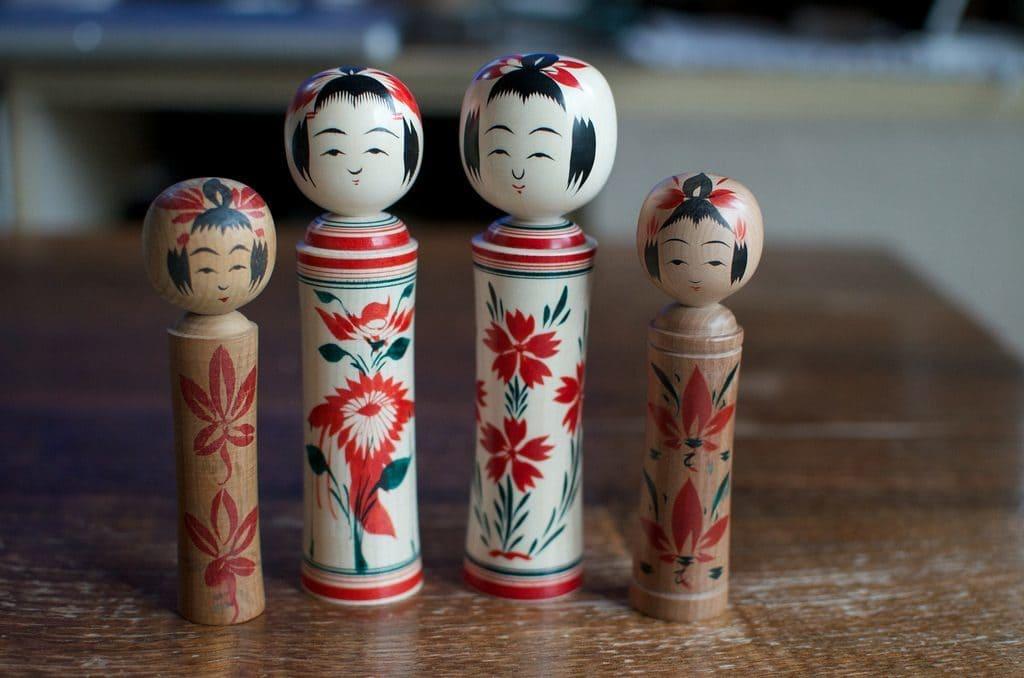 kokeshi poupée japonaise