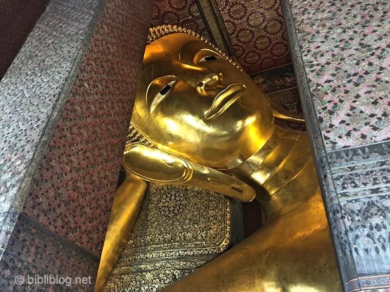 Bouddha couché à Bangkok, Thaïlande