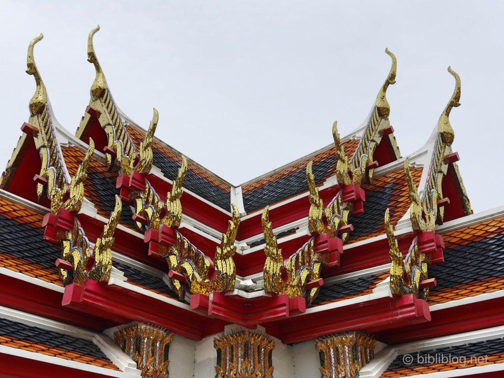 Bangkok Wat Pho toits