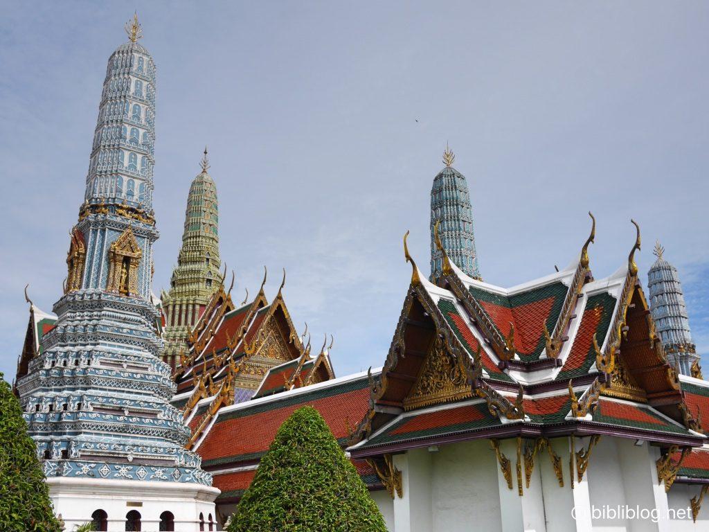 Thaïlande Bangkok palais impérial toits