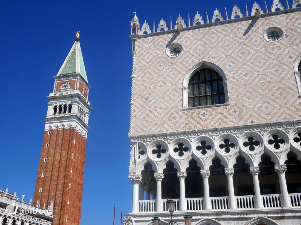 Venise campanile place Saint Marc