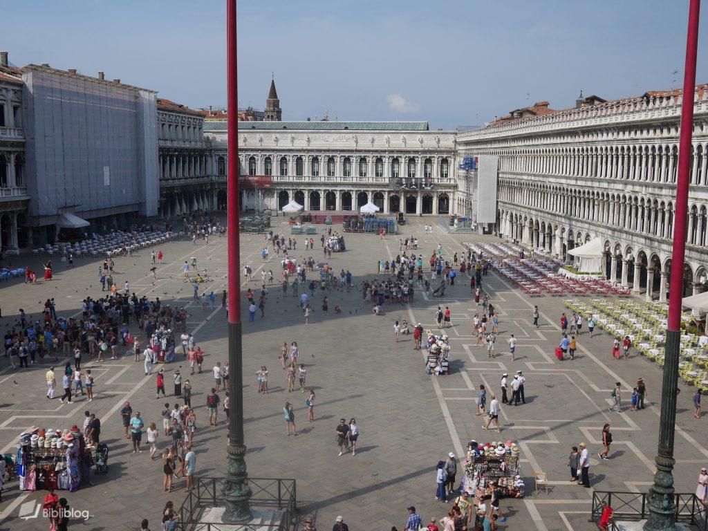 La place San Marco à Venise