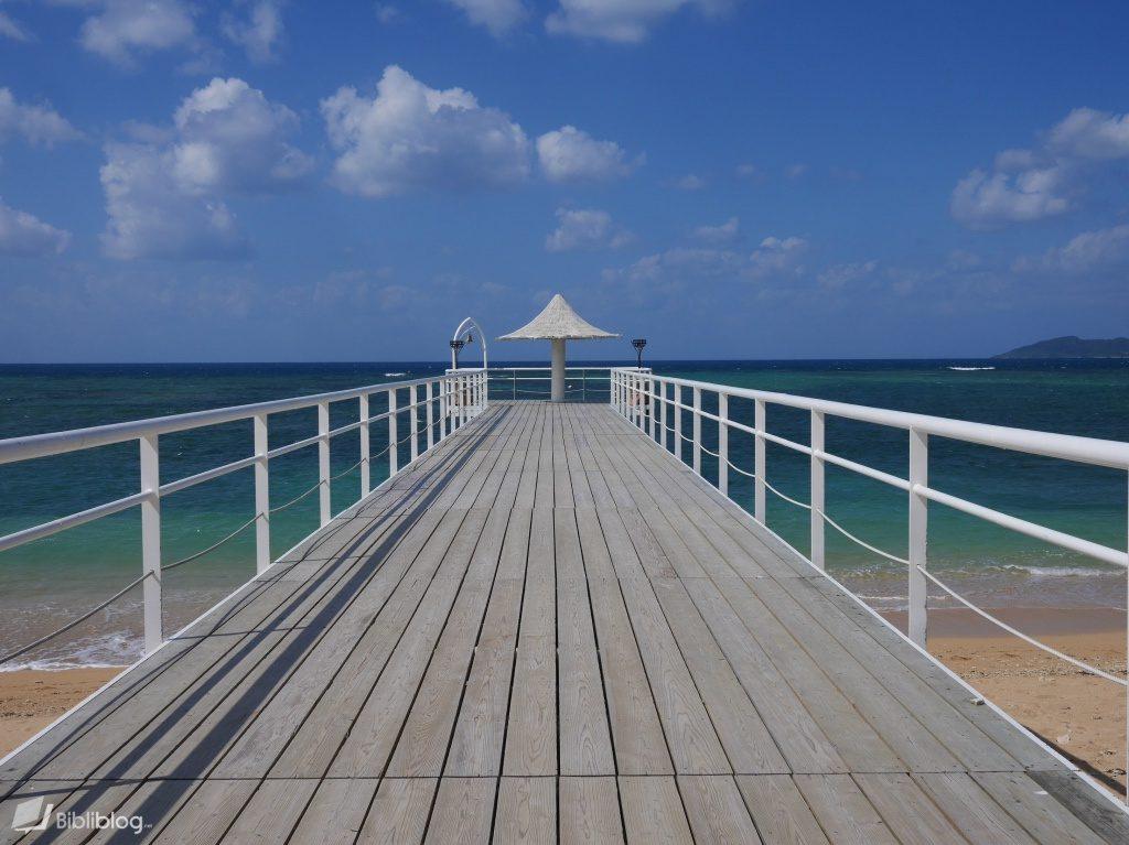 Fusaki pier su l'île d'Ishigaki, archipel de Yaeyama, Okinawa, Japon