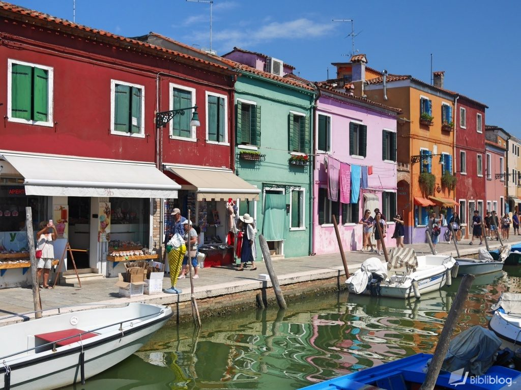 Burano Venise Italie