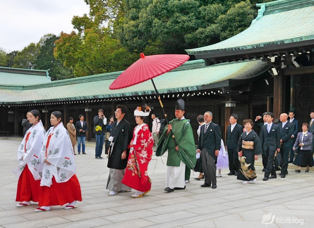 Mariage shinto traditionnel Japon