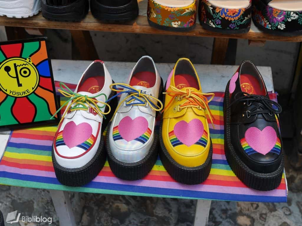 chaussures-colorees