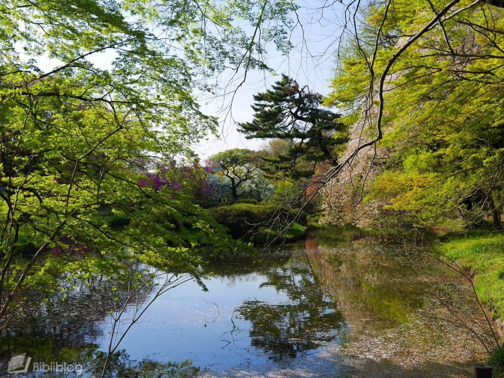Jardin botanique Tokyo