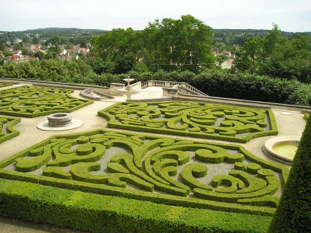 Jardins français et anglais