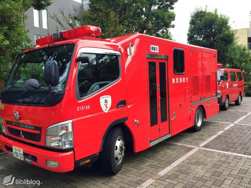 Pompiers-japon
