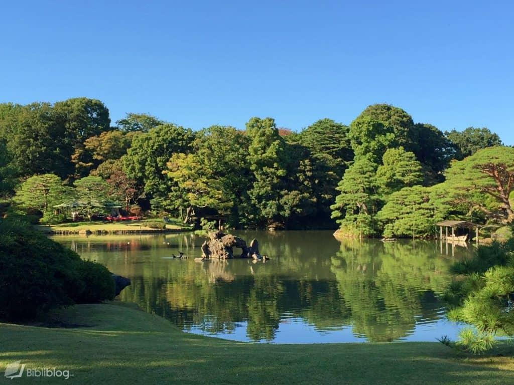 Jardin de Rikugien, Tokyo