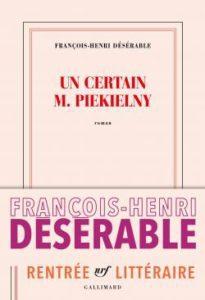 Un certain M. Pielkieny, de François-Henri Désérable