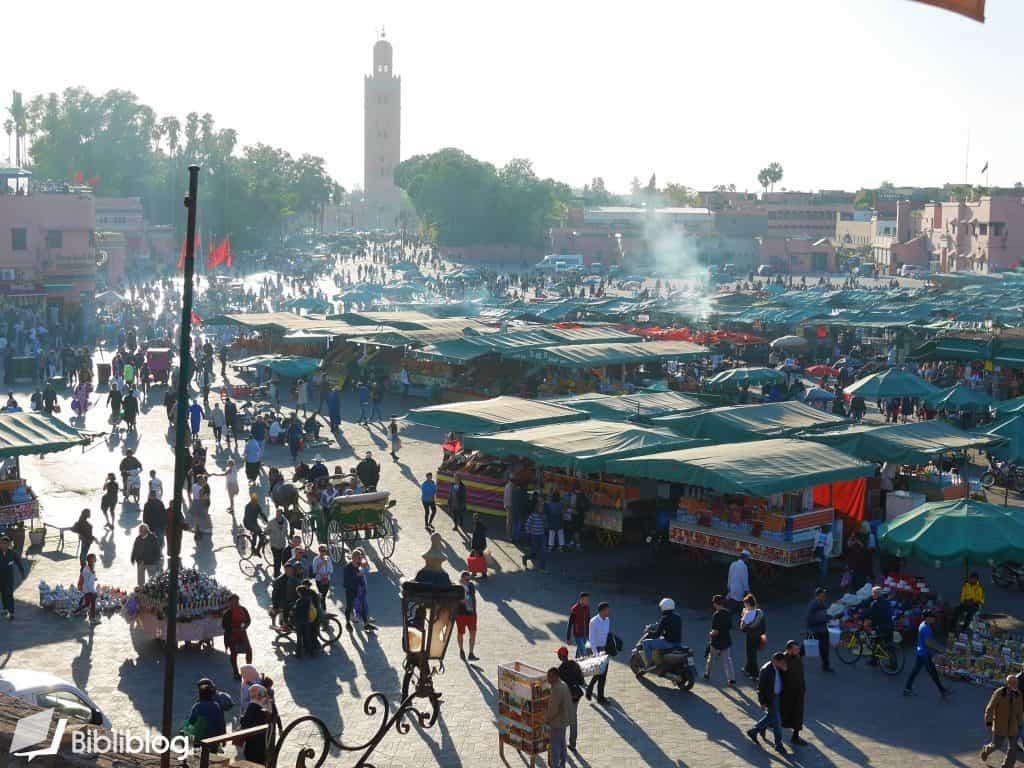 Jemaa-el-Fna à Marrakech