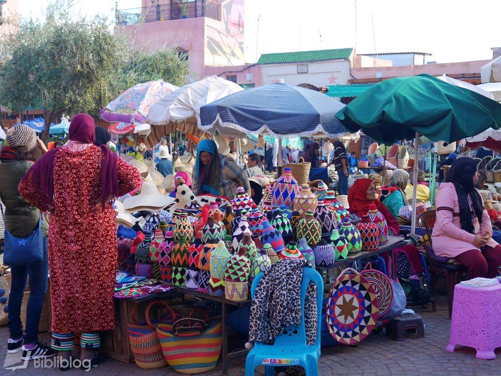 Marché souk Marrakech