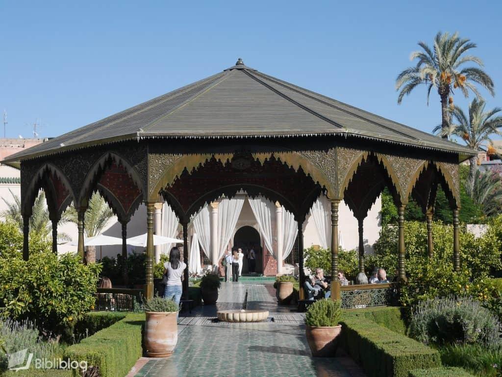 Marrakech riad du jardin secret