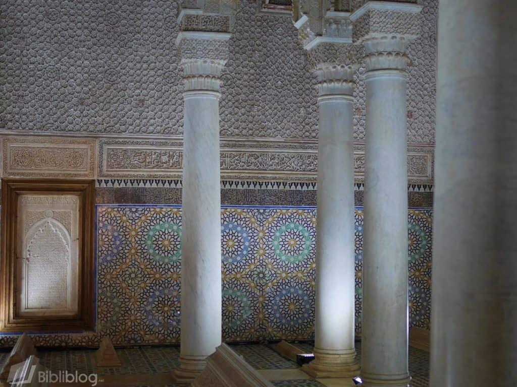 Marrakech tombeaux saadiens
