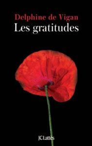 Les gratitudes, de Delphine de Vigan